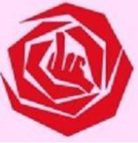 PvdA-logo, speciaal gericht aan dwangarbeiders.